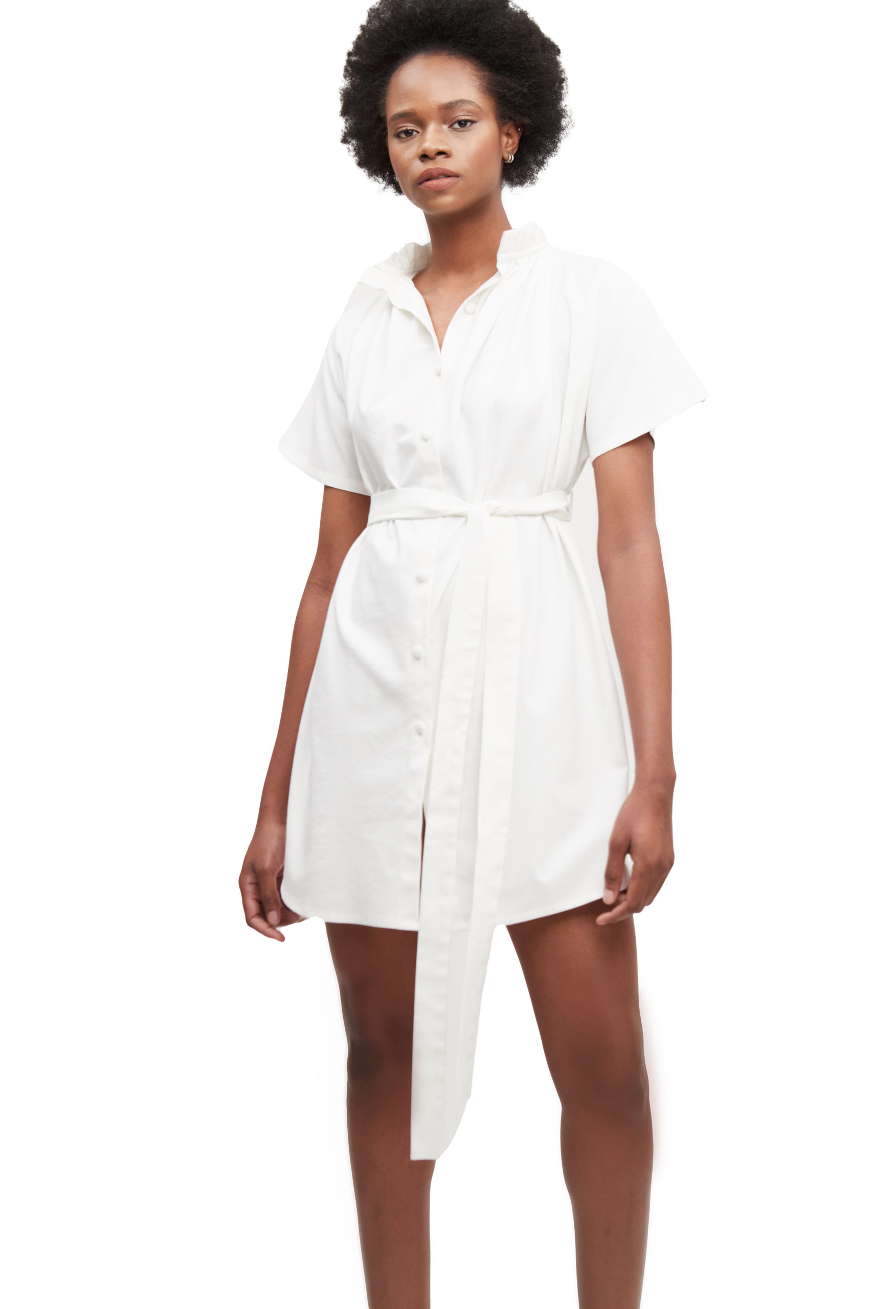 The Miles Dress in Ivory - Atelier Patty Ang