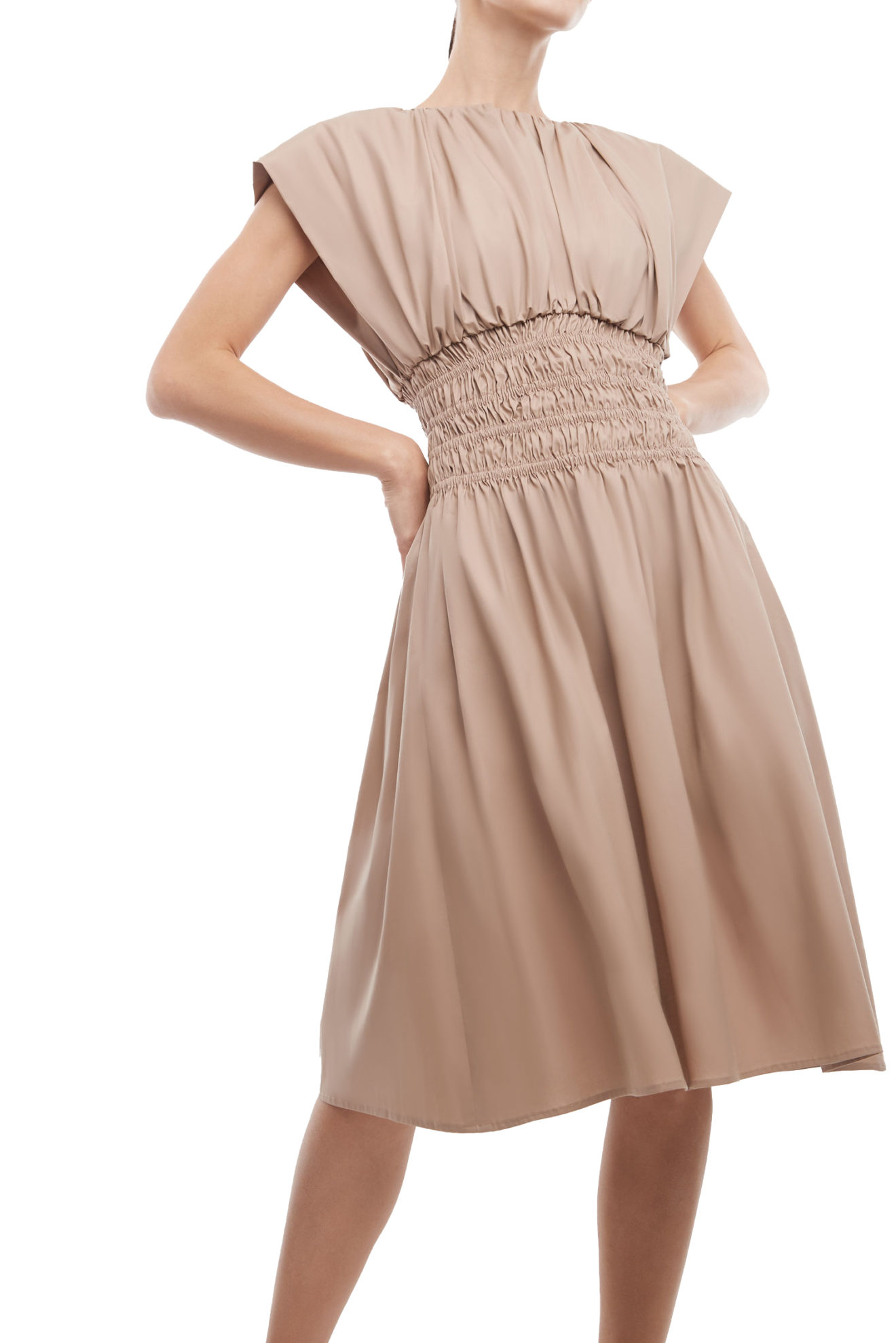 Como Dress in Nude - Atelier Patty Ang